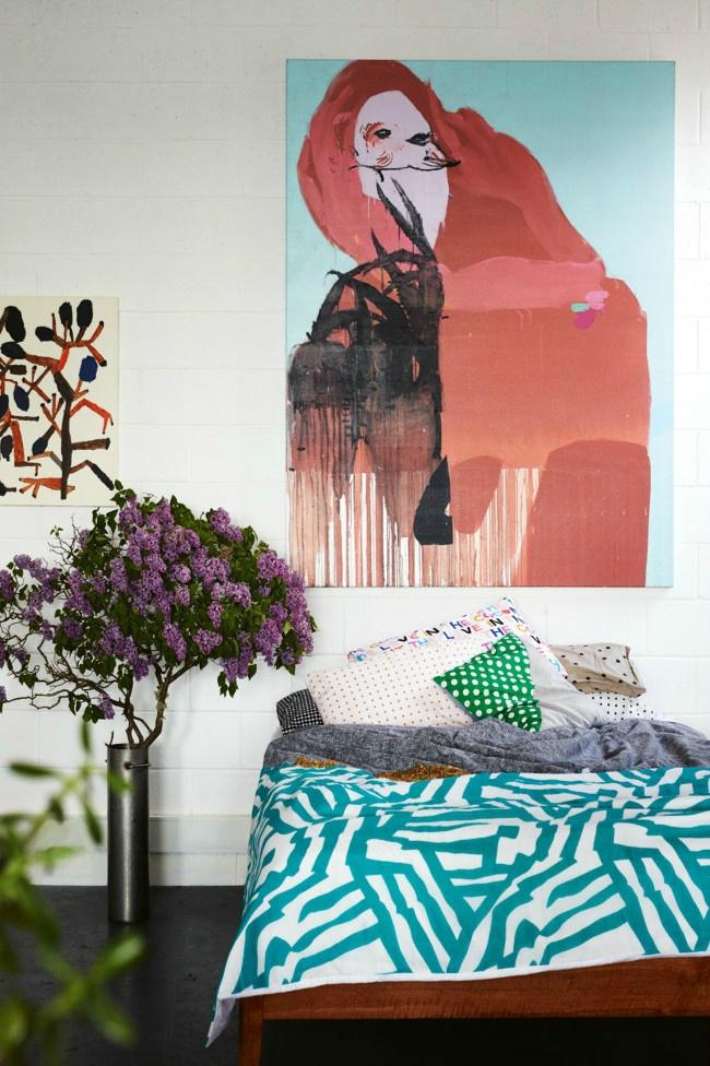 Дом художницы Киры Джемисон (Kira Jamison) в Мельбурне (Австралия)