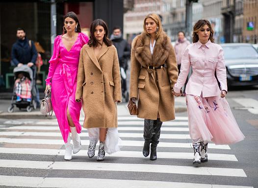 Модные цвета в гардеробе 2021