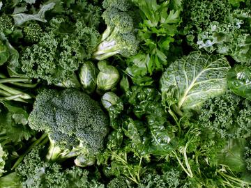 Весенние зеленые салаты