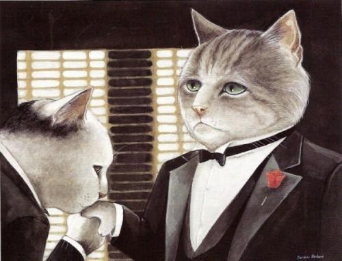 Коты киногерои