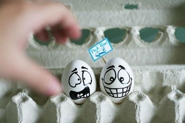 Прикольная подборка позитивных яиц