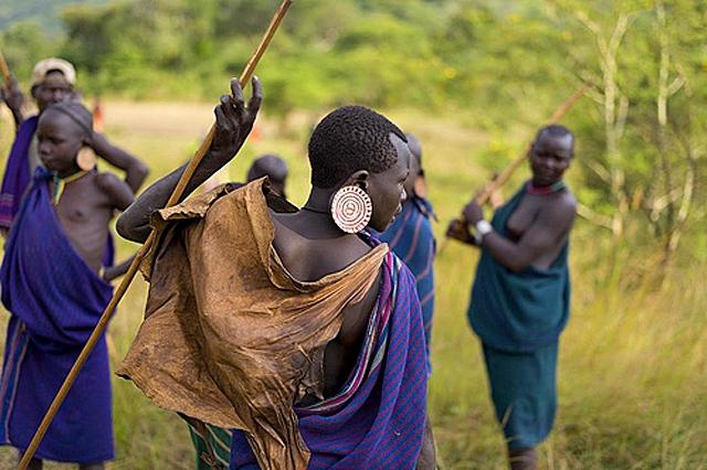 Племена, где может пожить турист: Племя Сури (Эфиопия)