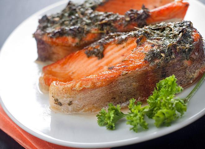 Рыба в духовке быстро