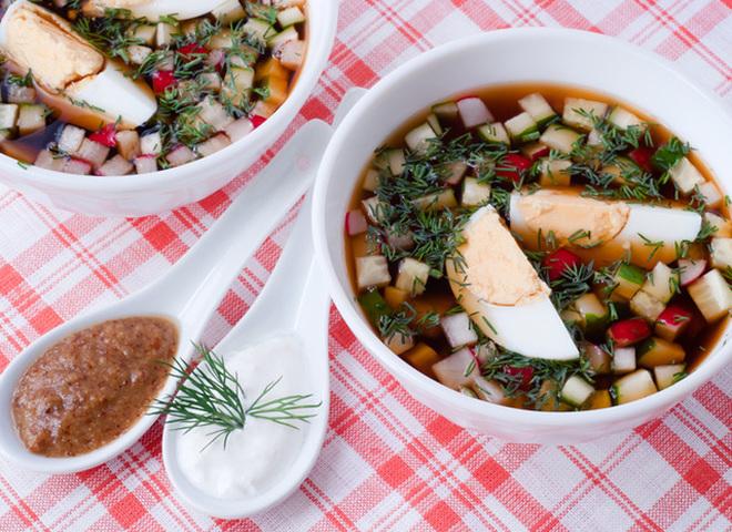 Окрошка: рецепты летнего супа (фото, видео)