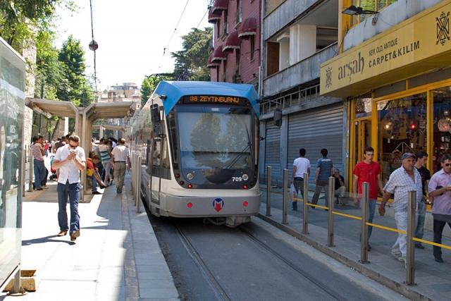 Отдых в Стамбуле. Трамвай