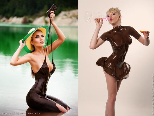доставляют только девушка шоколад эротика фото попробуем если что