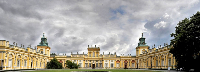 Музеи Варшавы: Дворец-музей в Wilanów