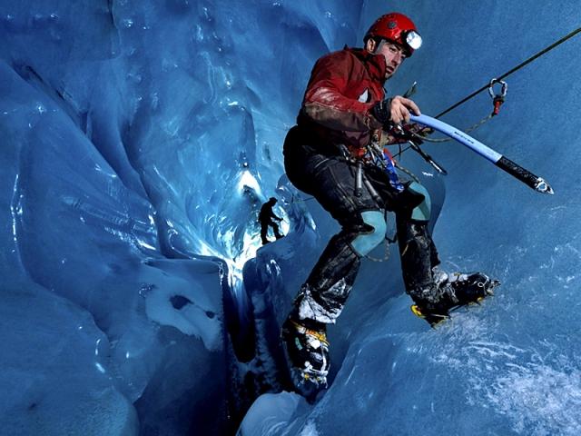 Печери льодовика Горнера