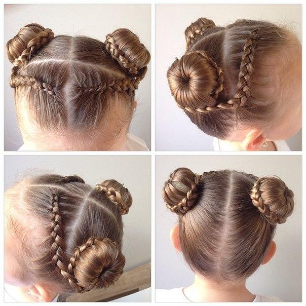 Зачіски на 1 вересня для першокласників