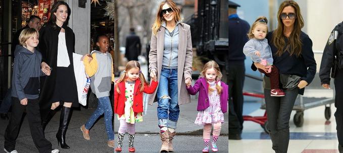 Звездный стиль: топ 10 модных мам и дочек