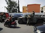 Військові на вулицях Мехіко