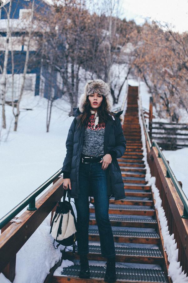 Стильные зимние луки, в которых ты не замерзнешь