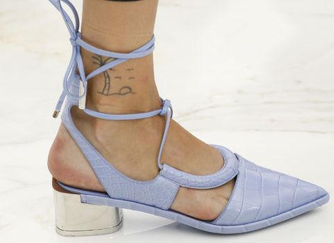 Модная обувь 2016: туфли с острым носком