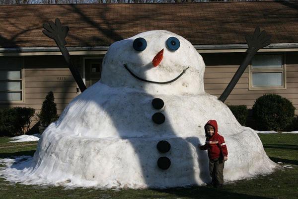 Позитивные снеговички