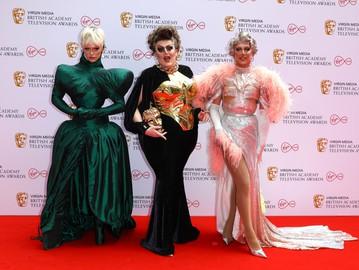 Бимини Бон-Булаш, Лоуренс Чейни и A'Whora на BAFTA TV Awards 2021