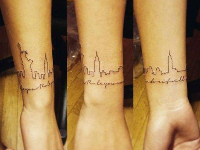 Татуировки для любителей путешествовать