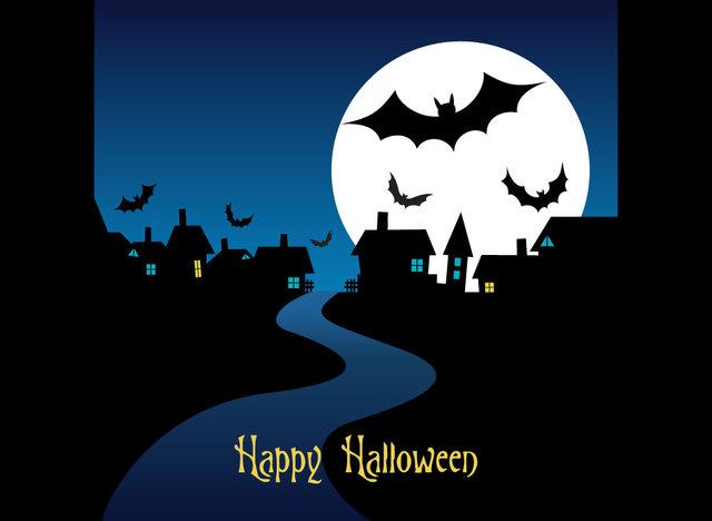 Открытки на Хэллоуин