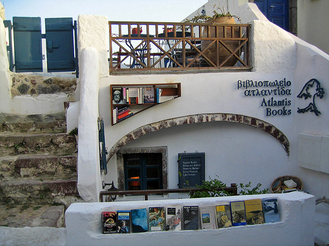 Романтичні книжкові магазини
