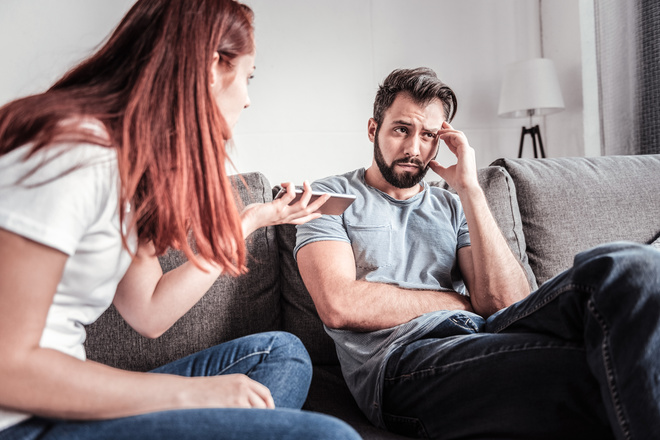 4 фразы, которые нельзя говорить мужчине