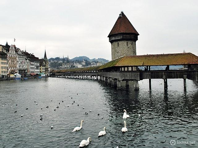 Капелльбрюкке (Люцерн, Швейцария)