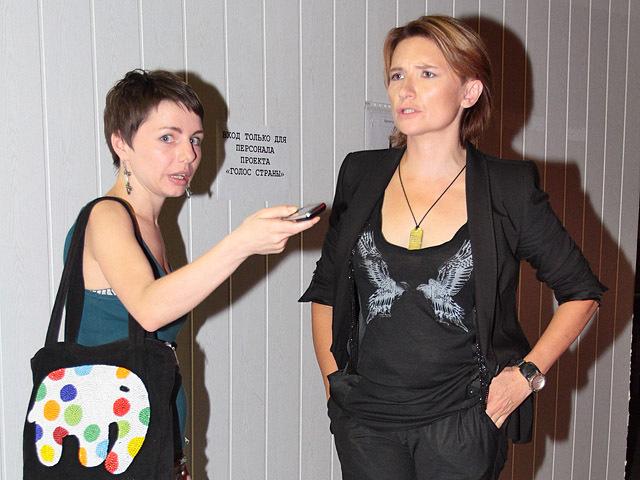 Диана Арбенина и Наташа Гордиенко