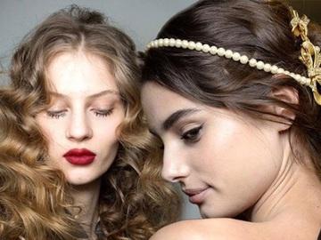 Прически на Новый год 2016 на средние волосы