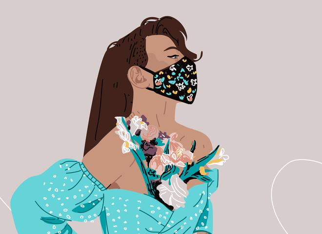 Как правильно носить маску чтобы не потели очки