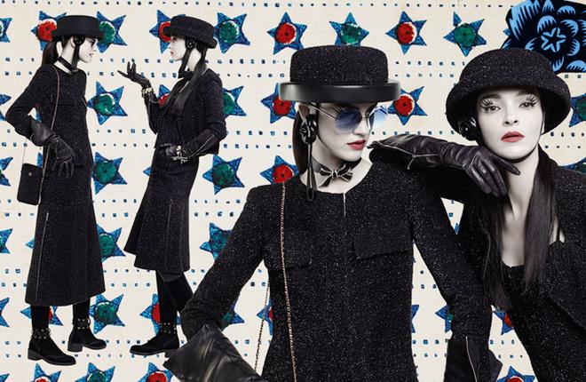 Карл Лагерфельд створив колажі для рекламної кампанії Chanel