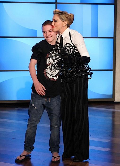 Мадонна с детьми