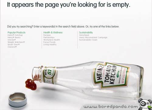 25 креативных ошибок 404