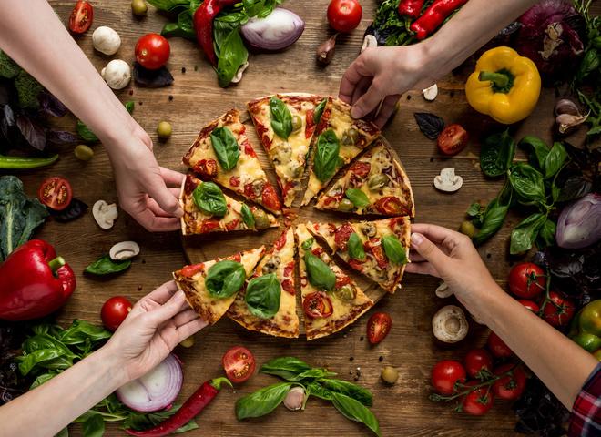 Рецепт ленивой пиццы за 5 минут
