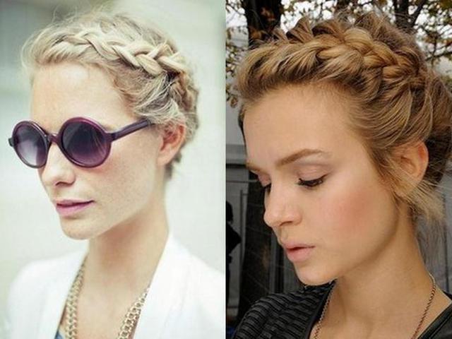 Прически с косичками на средние волосы для девочек