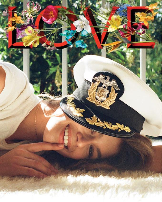 Кендалл Дженнер сняла дочь Синди Кроуфорд для журнала Love