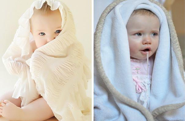 Фотосессия с младенцем. Ожидание и реальность