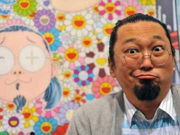 Выставка Мураками в Версале