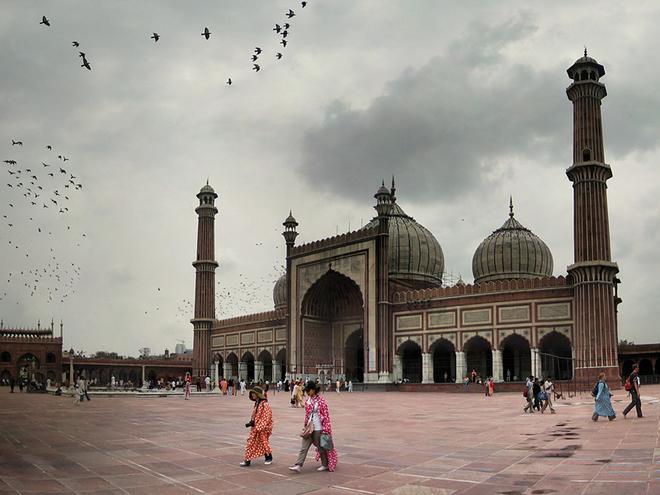 Достопримечательности Дели: мечеть Джама Масджид
