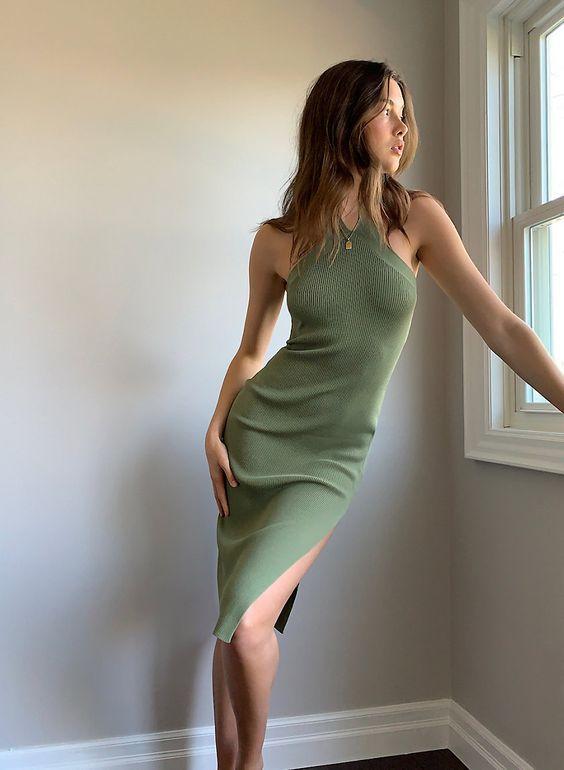 10 трикотажных платьев разного фасона на лето 2020