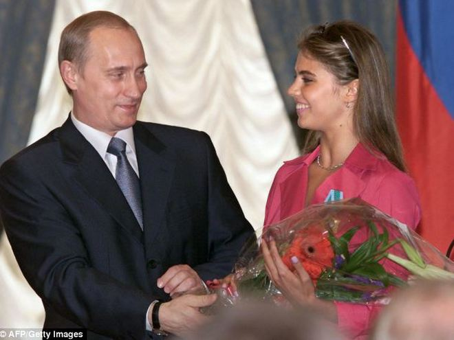 Кабаева и Путин (фото)