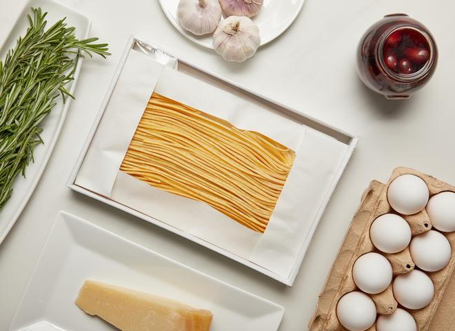 Вершково-сирна паста: рецепт приготування покроково