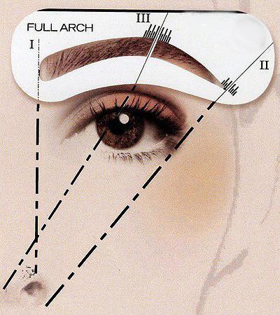 3 основных правила идеального макияжа бровей