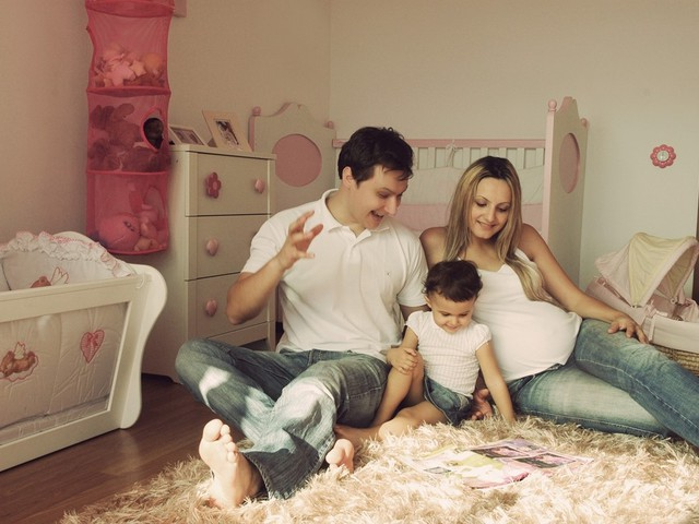 домашнее семейное фото