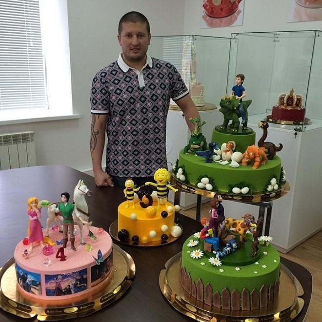 Смотреть картинки тортов