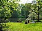 Парк имени Клары Цеткин в Лейпциге