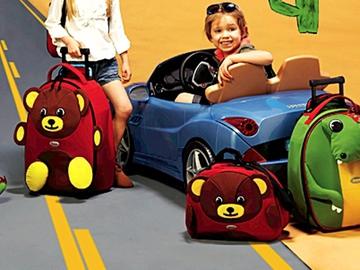 Самые оригинальные детские чемоданы