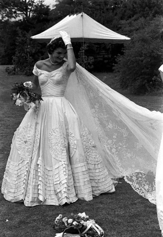 Свадебное платье жаклин кеннеди