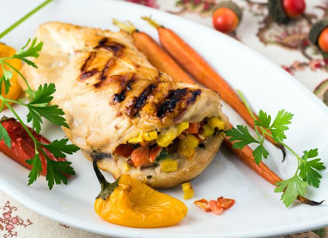 Блюда из куриного филе: курица на гриле