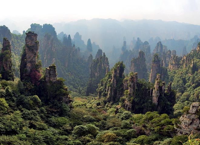Літаючі острови «Аватара»: Улін'юань