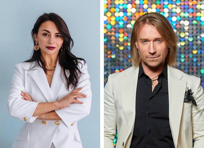 Илона Гвоздева и Олег Винник