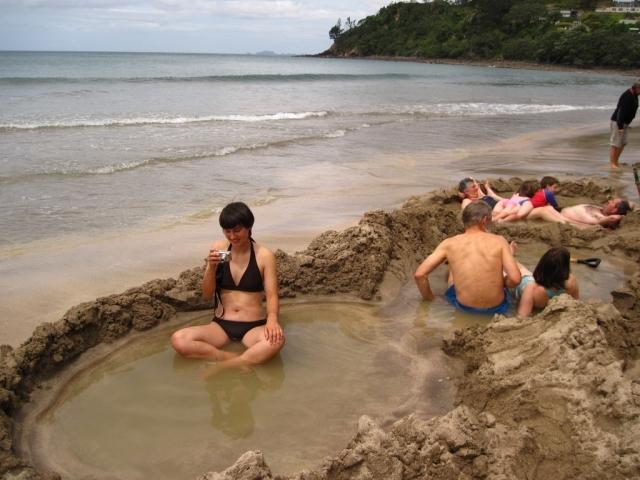 Найкращі пляжі світу: пляж з гарячою водою, Нова Зеландія