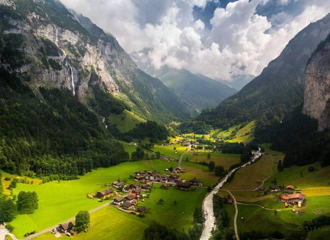 Удивительные места мира: фотографии Швейцарии, от которых захватывает дух